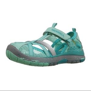 5c8f1f5115f Merrell Shoes | Hydro Monarch Water Sandal In Aqua | Poshmark